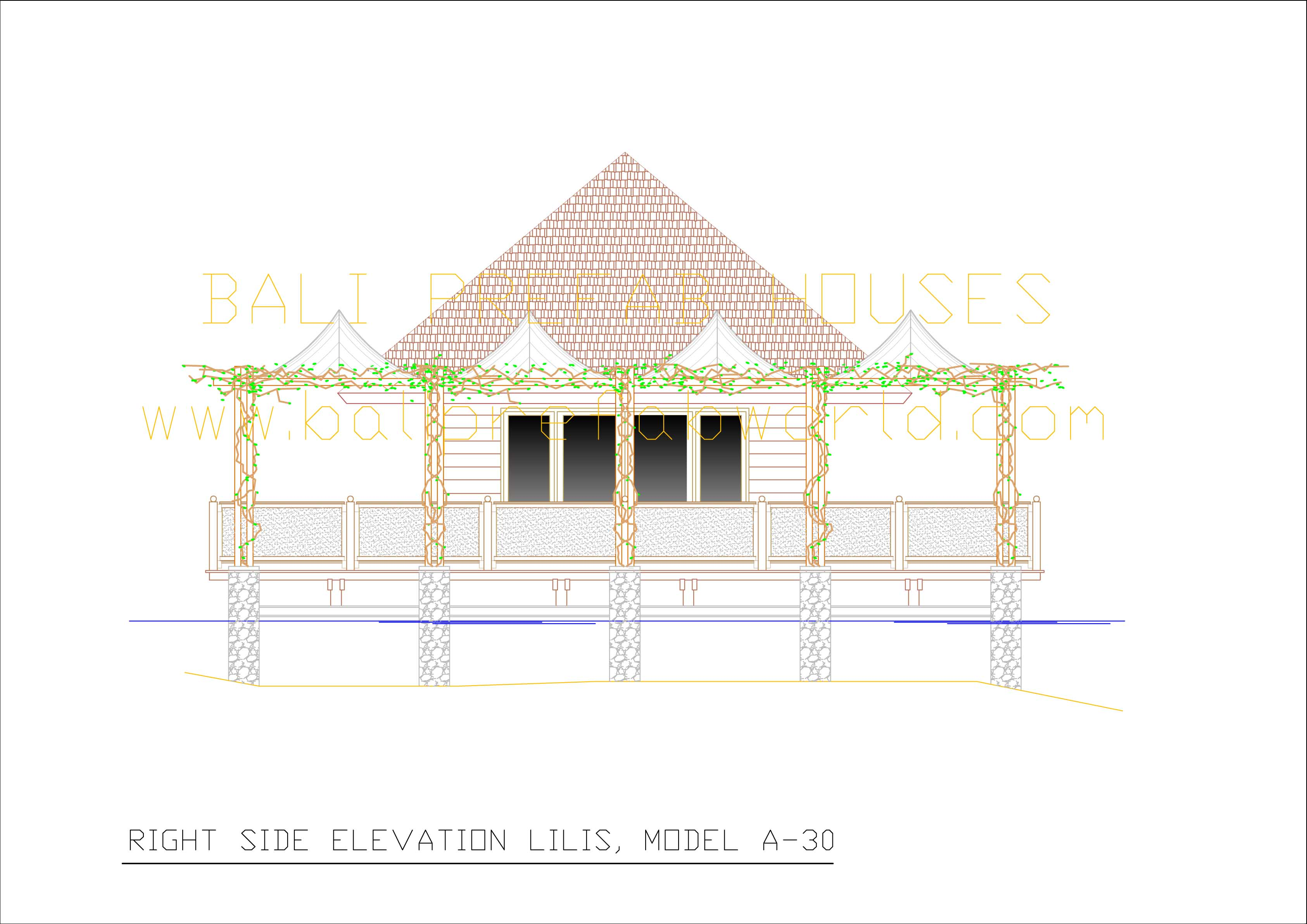 Lilis right side elevation