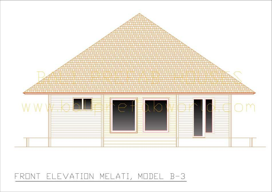 Melati front elevation