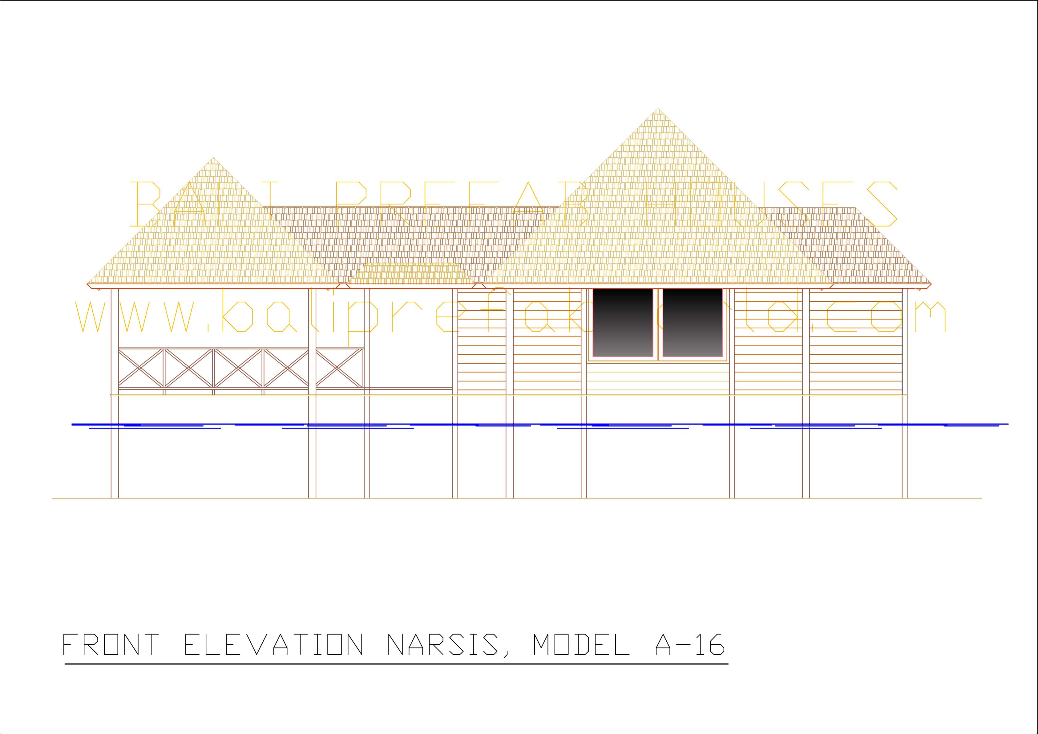 Narsis front elevation