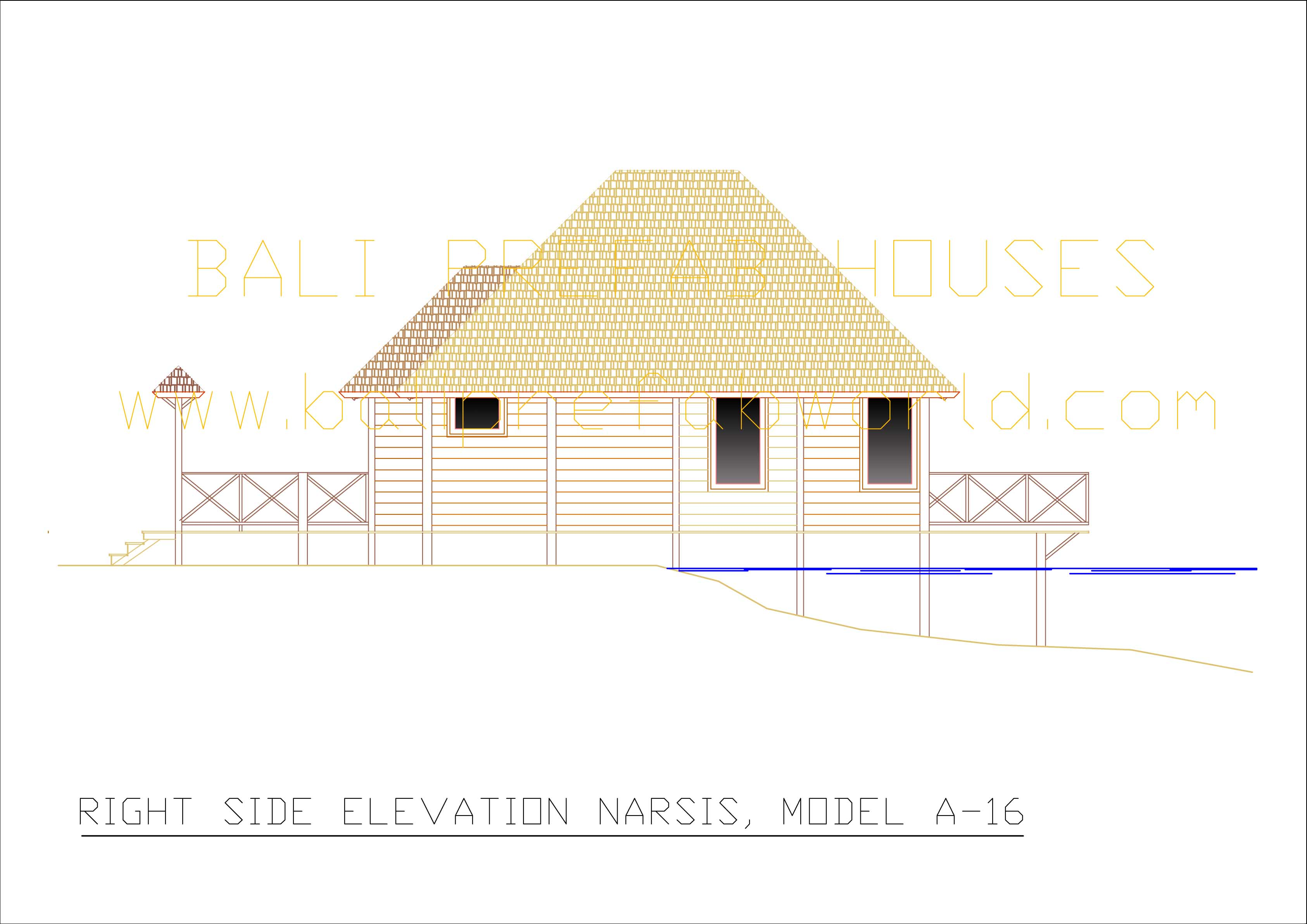 Narsis right side elevation