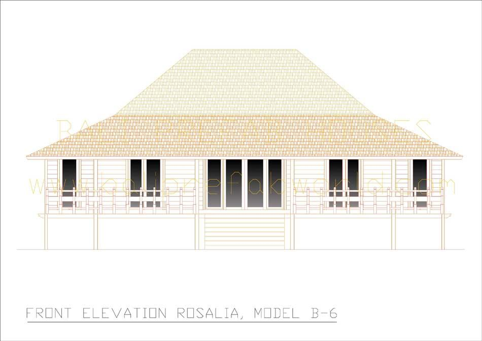 Rosalia front elevation