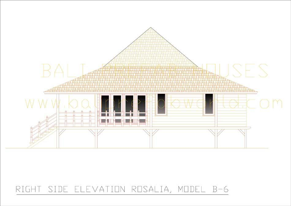 Rosalia right side elevation