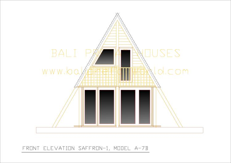 Saffron_2 front elevation-a