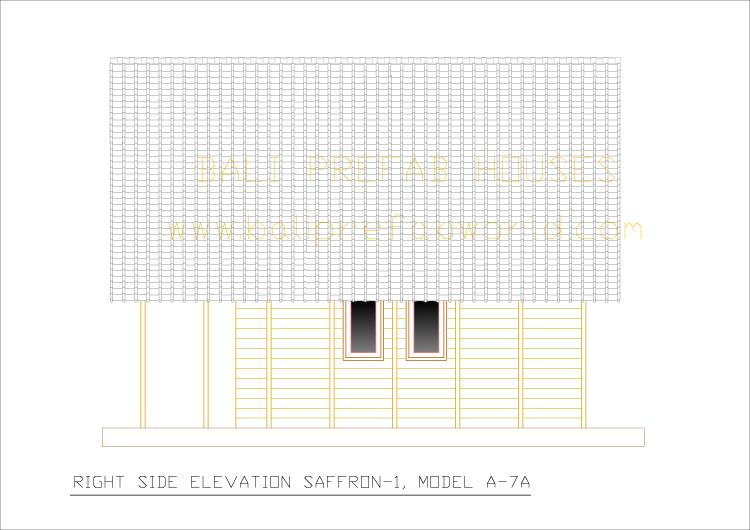 Saffron_1 right side elevation-a