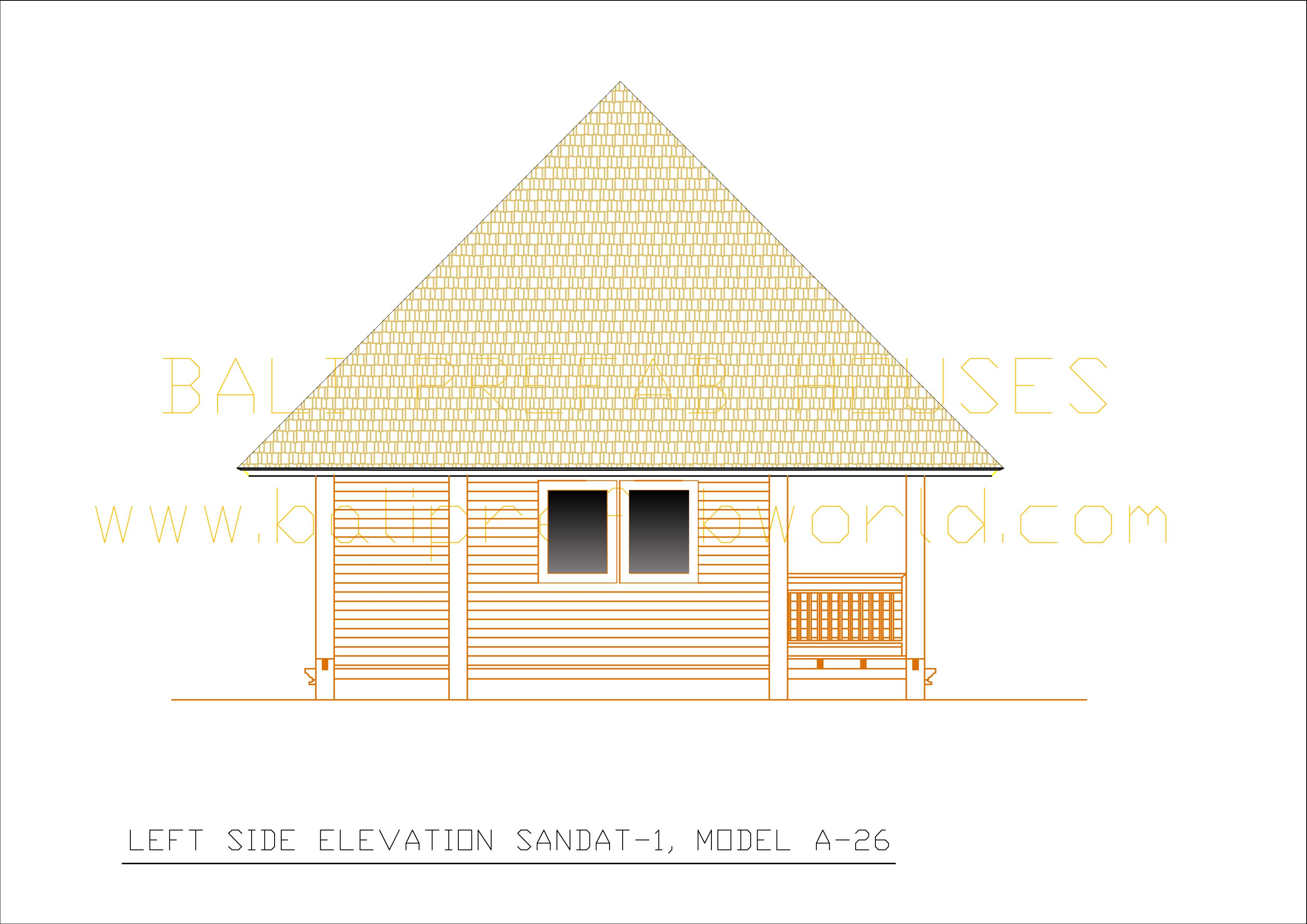Sandat-1 left side elevation