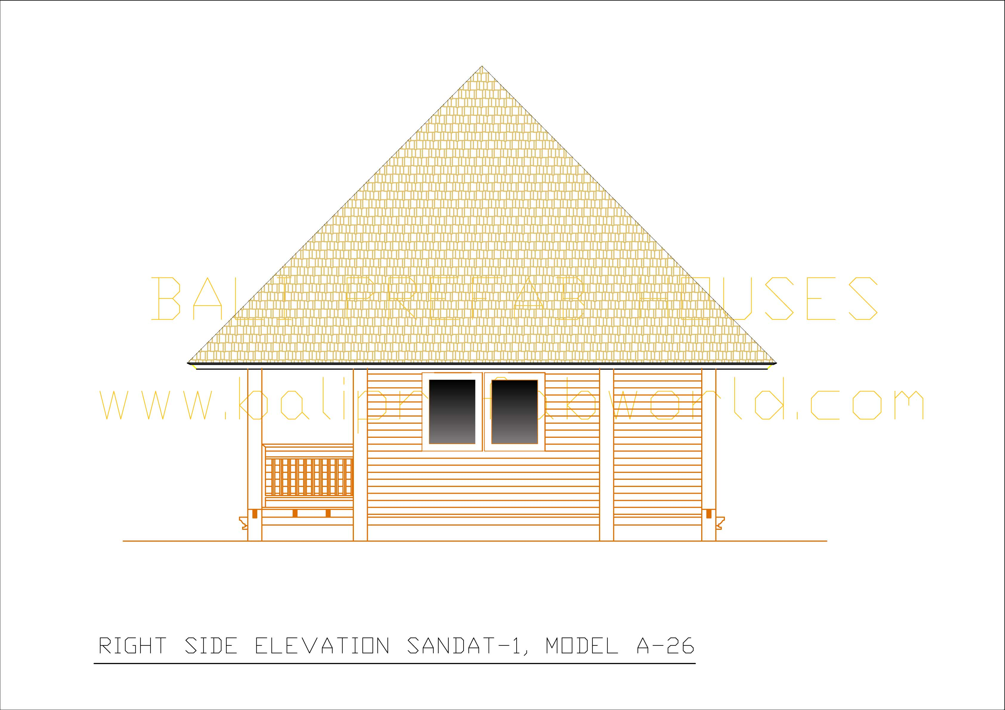 Sandat-1 right side elevation