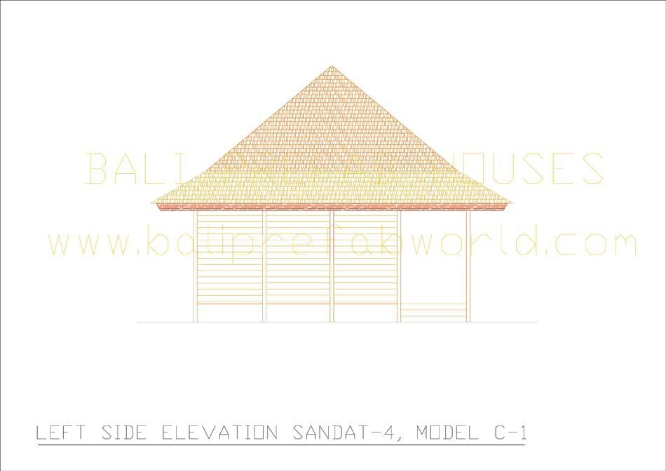 Sandat-4 left side elevation