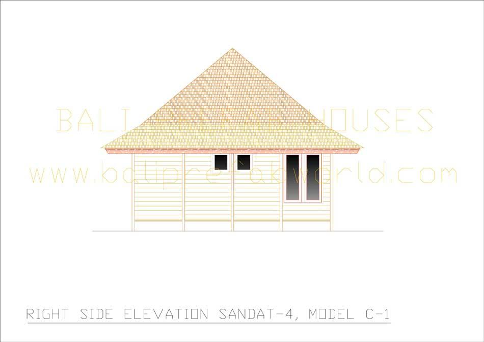 Sandat-4 rear elevation