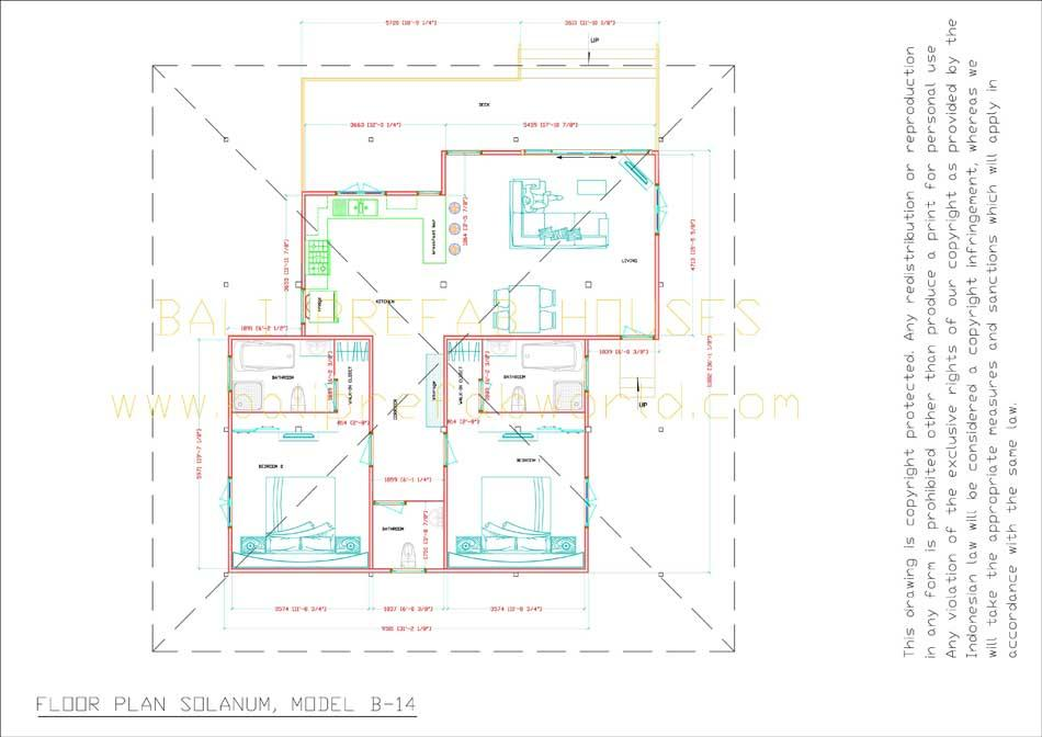 Solanum floorplan