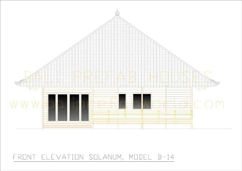 Solanum front elevation