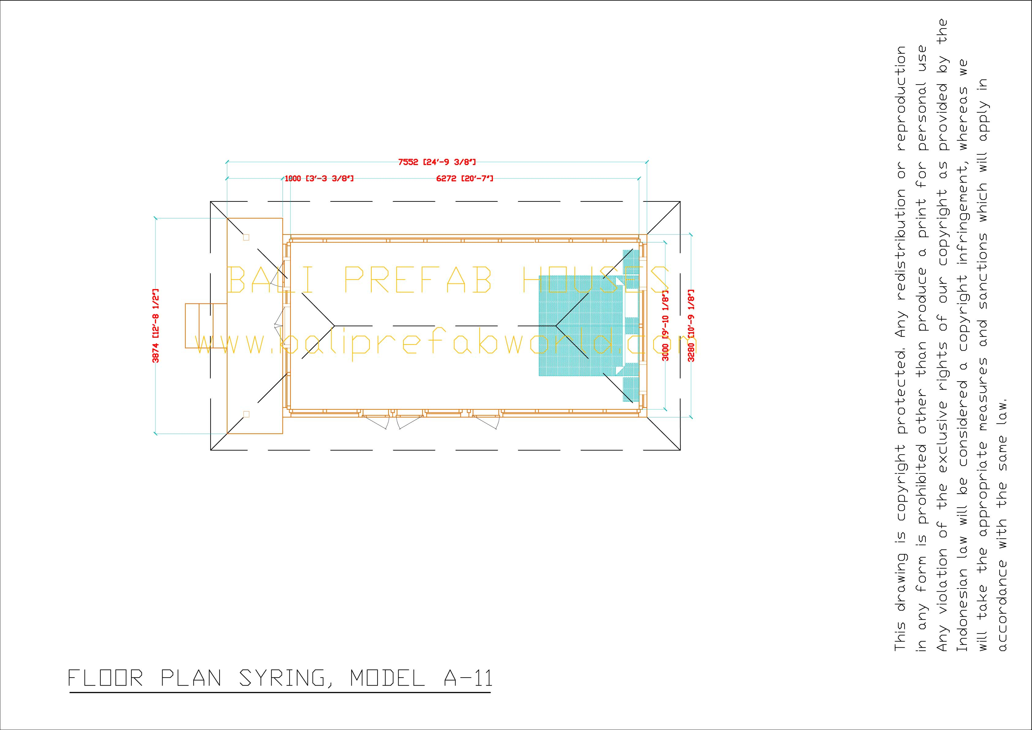 Syring floorplan