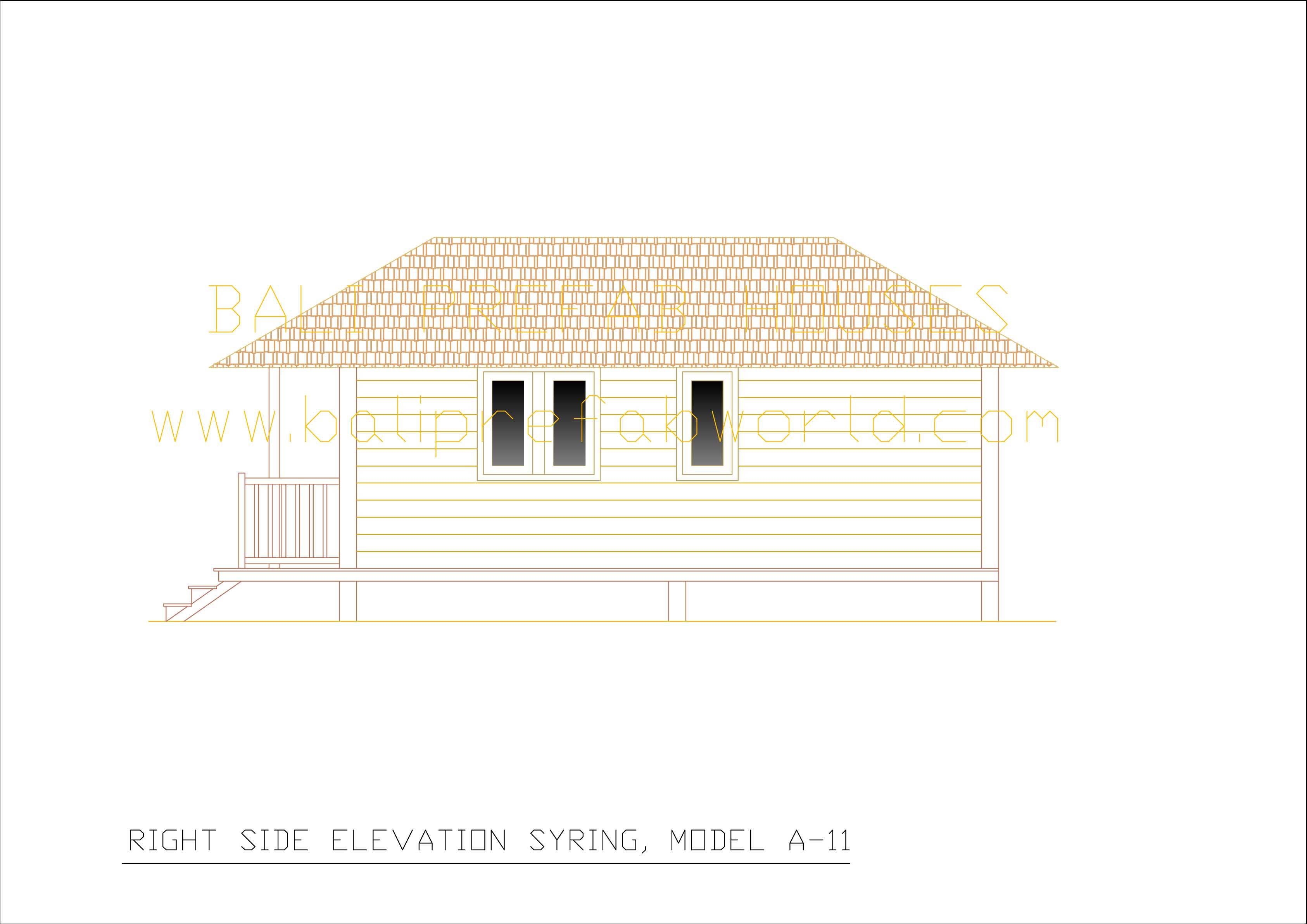 Syring right side elevation