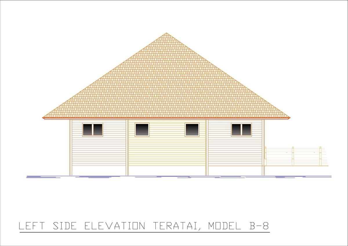 Teratai left side elevation