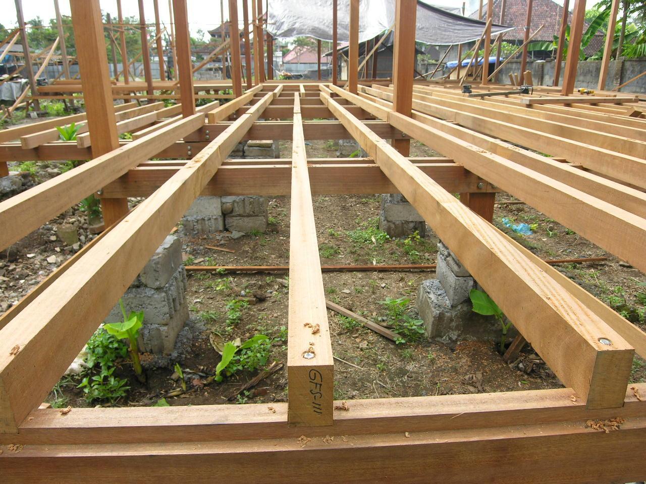 Bali prefab world construction assembly flooring beams for Rafter beam