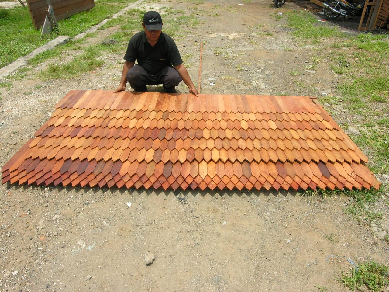 Bali Prefab World Shingle Roof