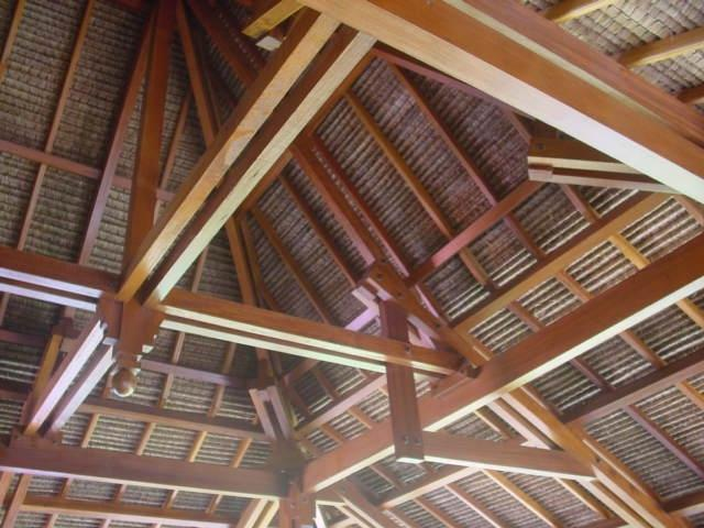 Prefab Roof Structures : Bali prefab world houses roof structures