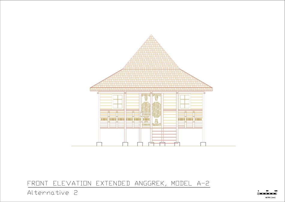 A-2 front elevation