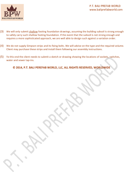 Package Bali Prefab World Page 3a