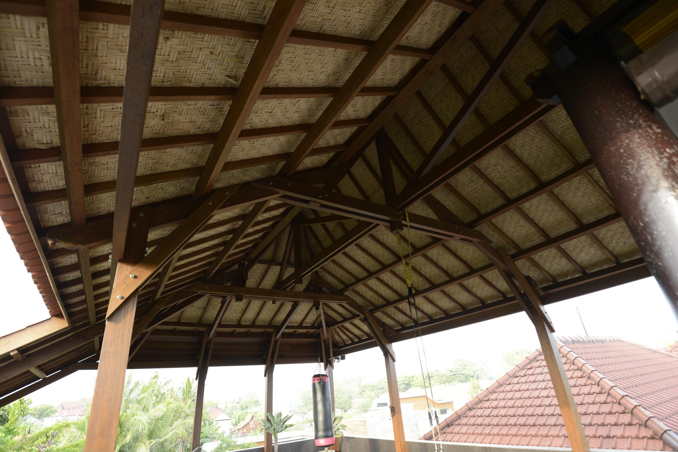 bali prefab world construction assembly roof structures