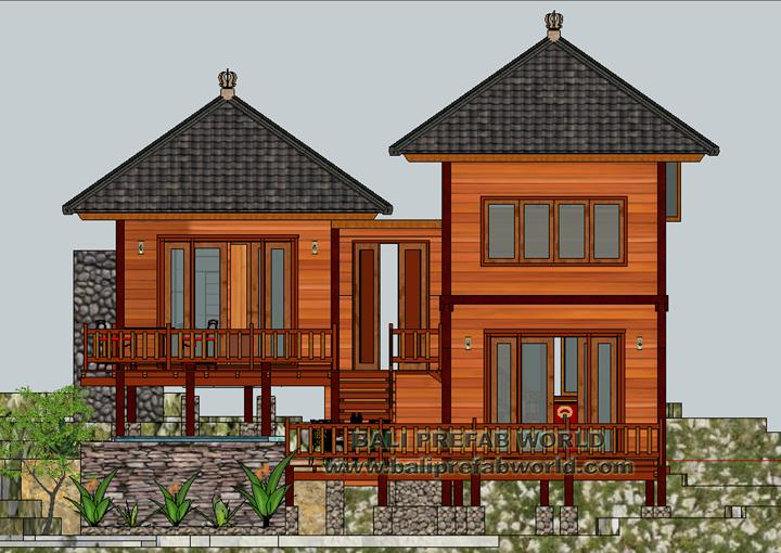 Heliconia front elevation-render