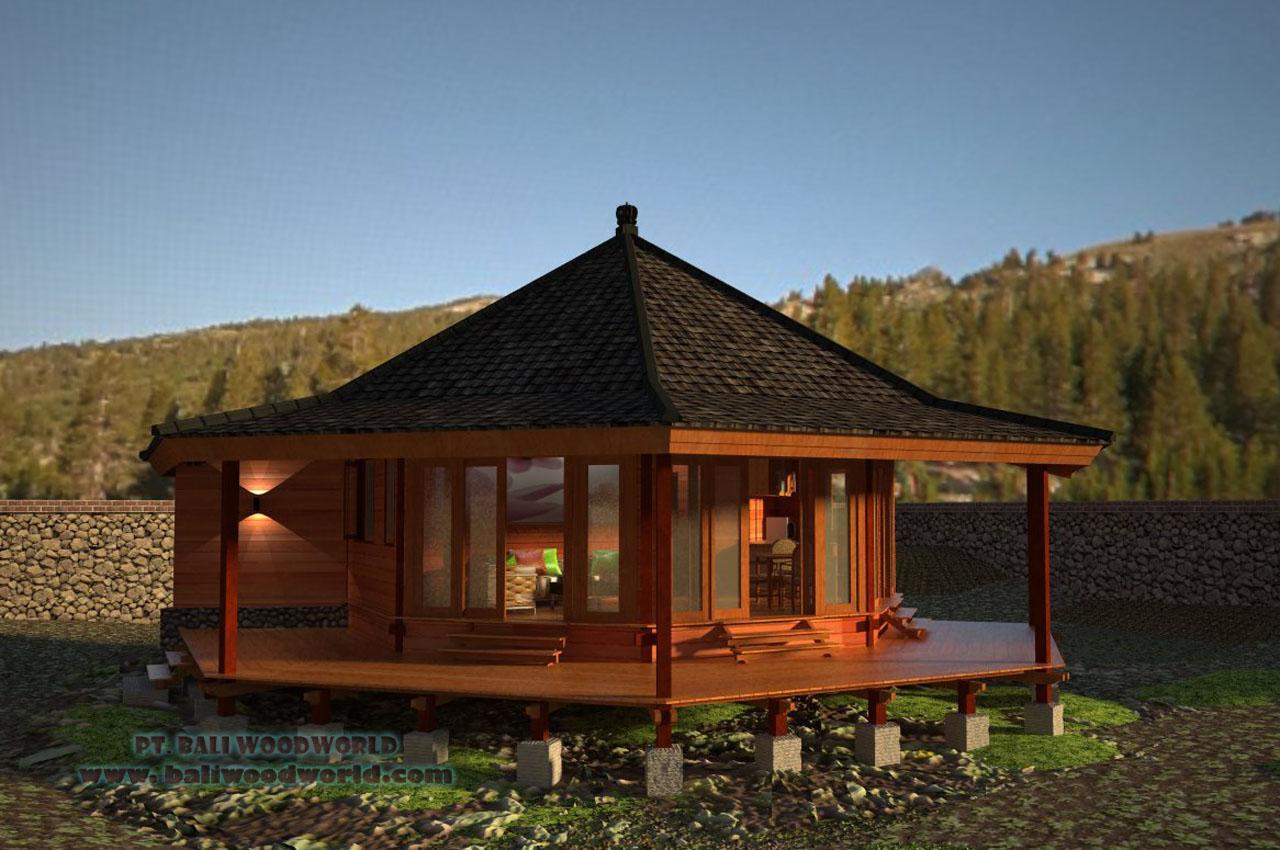 Bali prefab world narsis camellia chrysantemum for Modular beach house designs