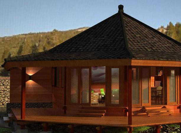 Bali prefab world prefab houses eco cottages gazebos Bali house designs floor plans