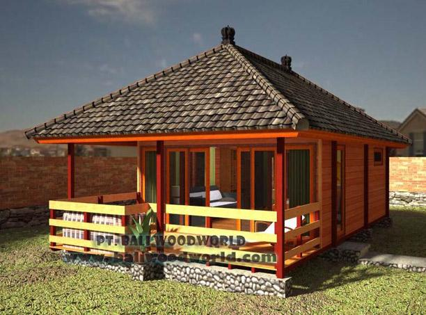 Bali prefab knockdown houses